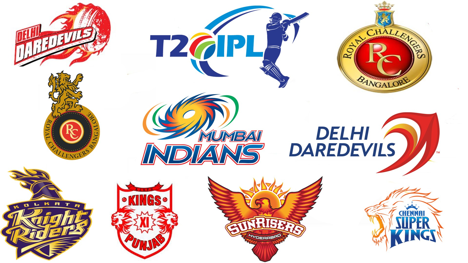ipl logo t20 teams hd pc wallpaper