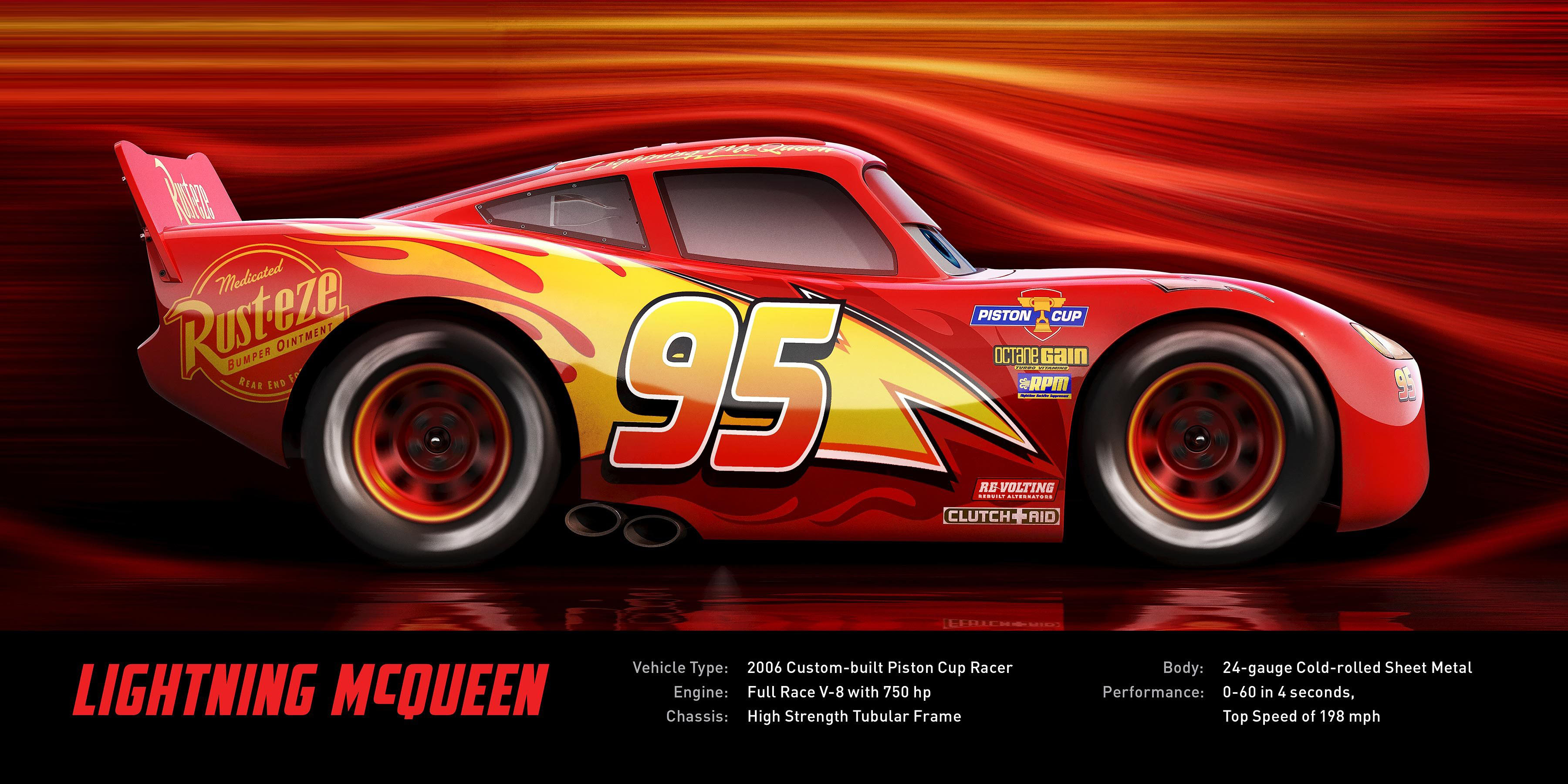 Disney Cars 3 Lightning Mcqueen Specifications Hd Wallpaper