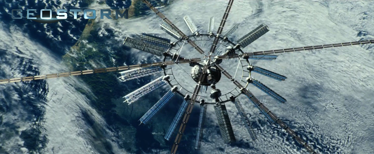 geostorm satellite controls world weather climate hd wallpaper