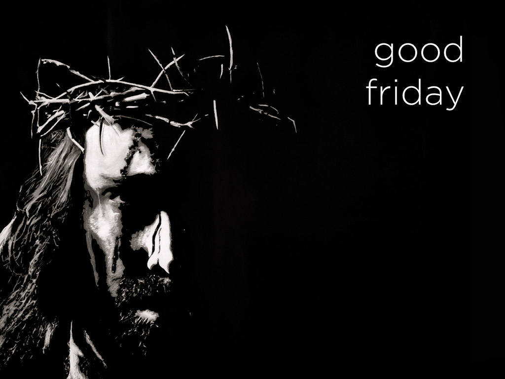 good friday jesus with thorn crown crucifixion hd wallpaper