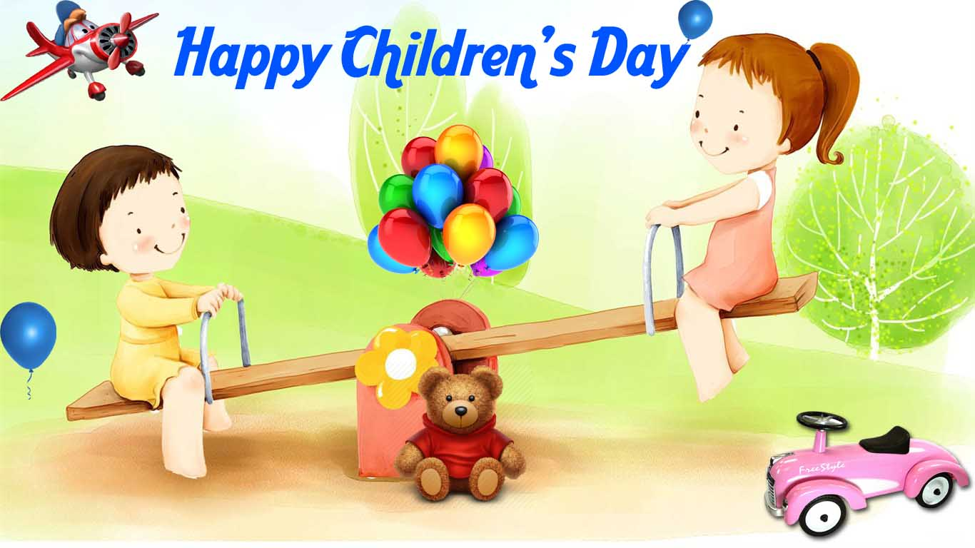 happy childrens day hd pc desktop background wallpaper