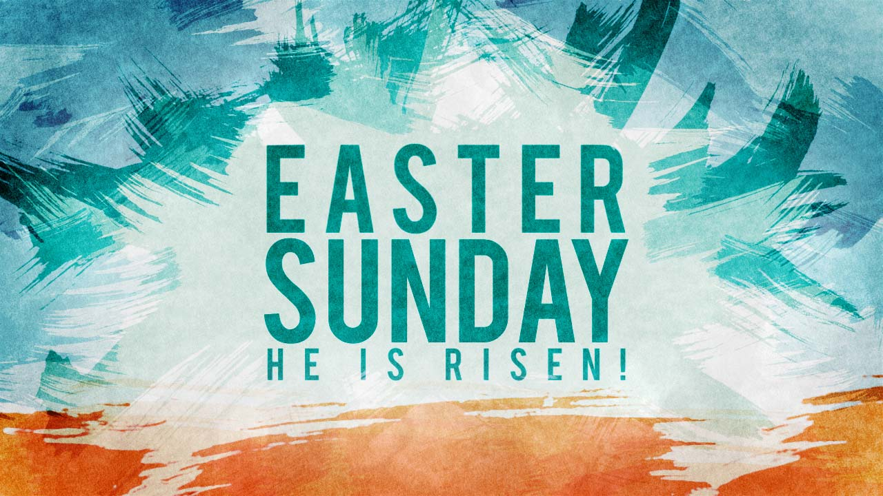 happy easter wishes resurrection life jesus risen from dead hd wallpaper