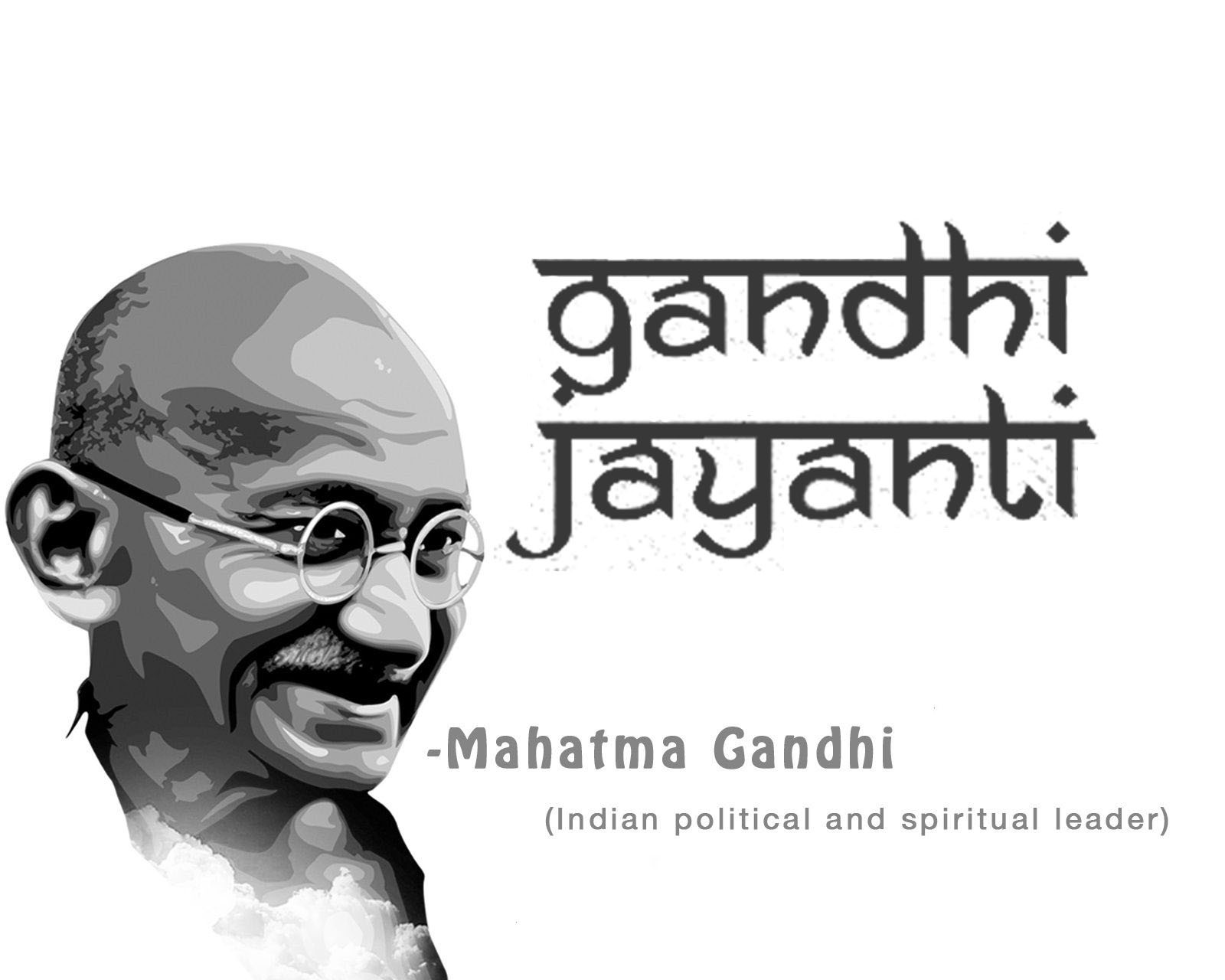 happy gandhi jayanti on 2nd october pc wallpaper