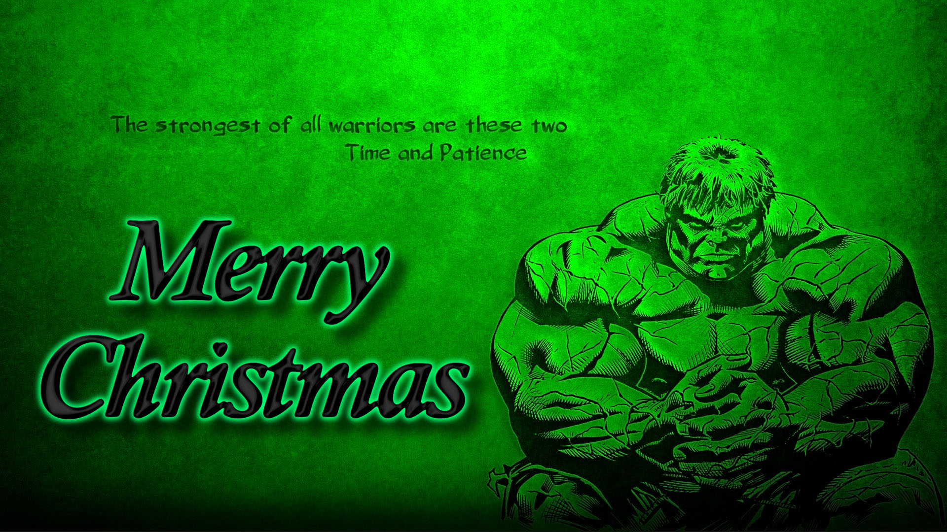 happy merry christmas incredible strongest warrior hulk quotes marvel avenger hd wallpaper