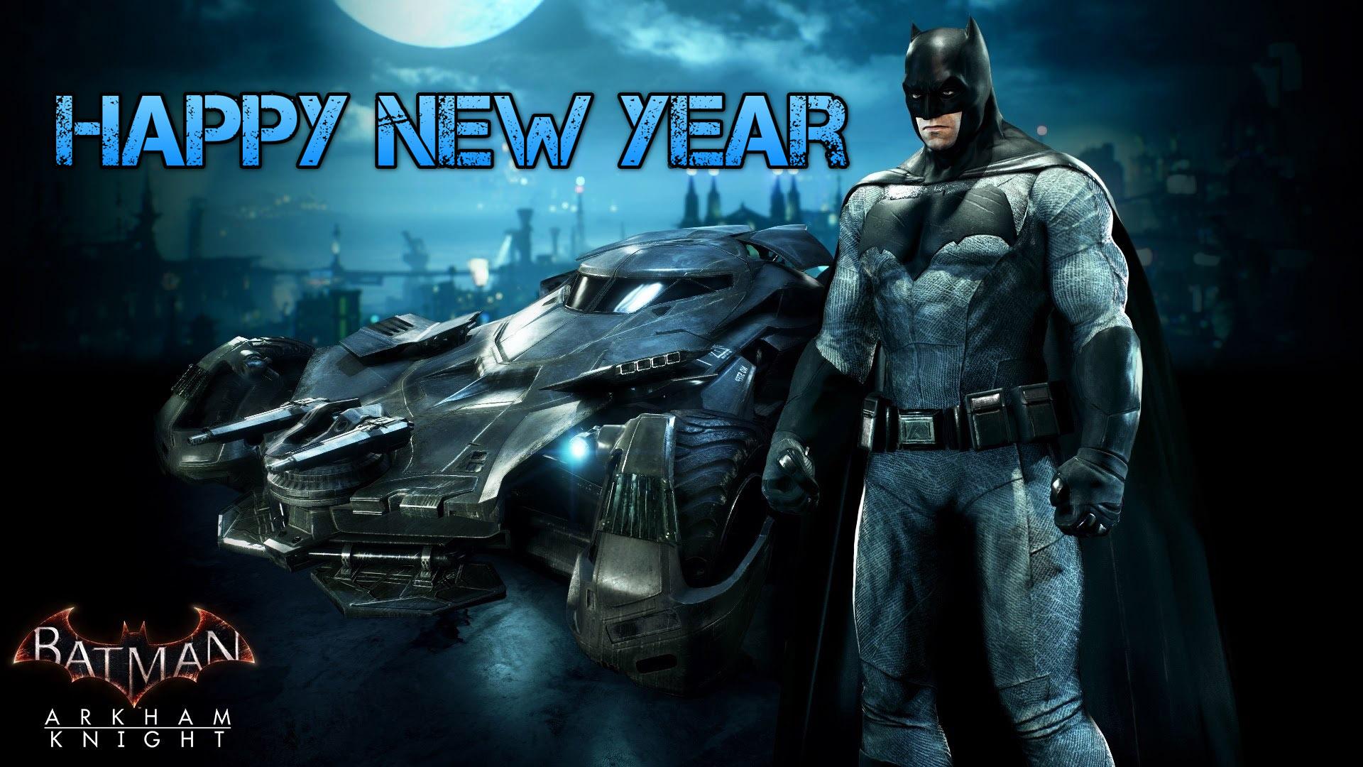 happy new year greetings super hero batman kids hd wallpaper