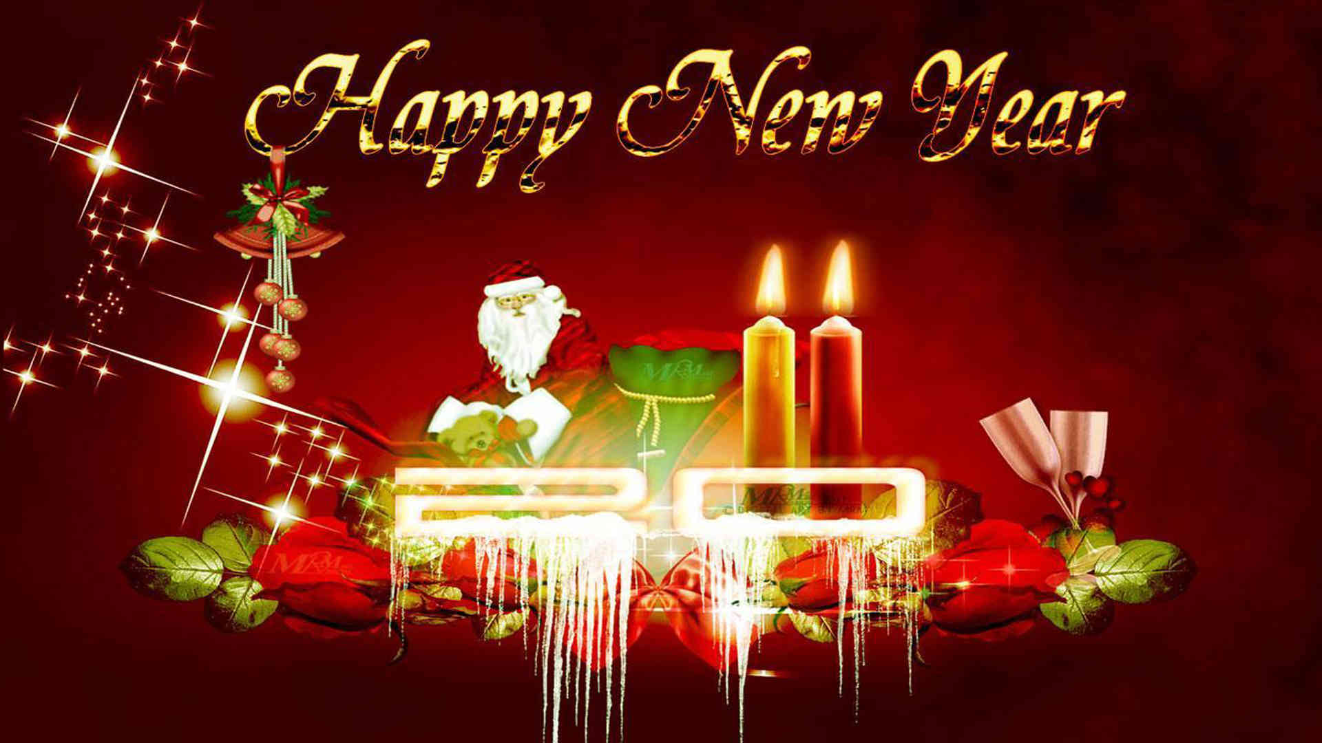 happy new year greetings wishes hd wallpaper background