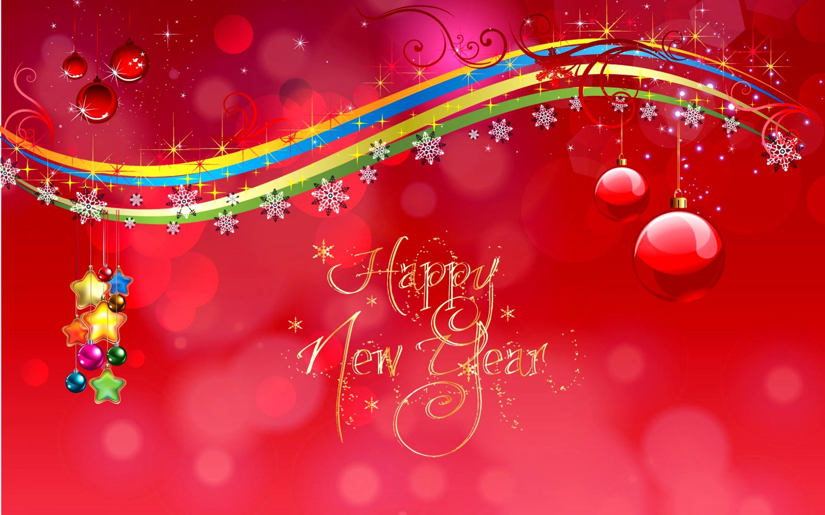 Happy New Year Wishes Greetings Hd Pc Desktop Wallpaper