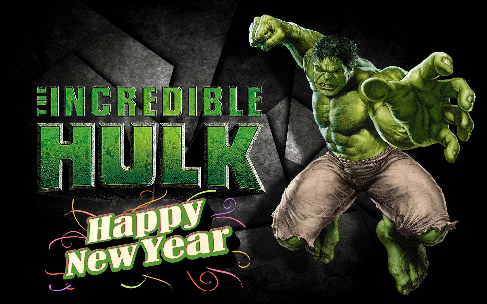 happy new year incredible hulk marvel avenger superhero pc hd wallpaper