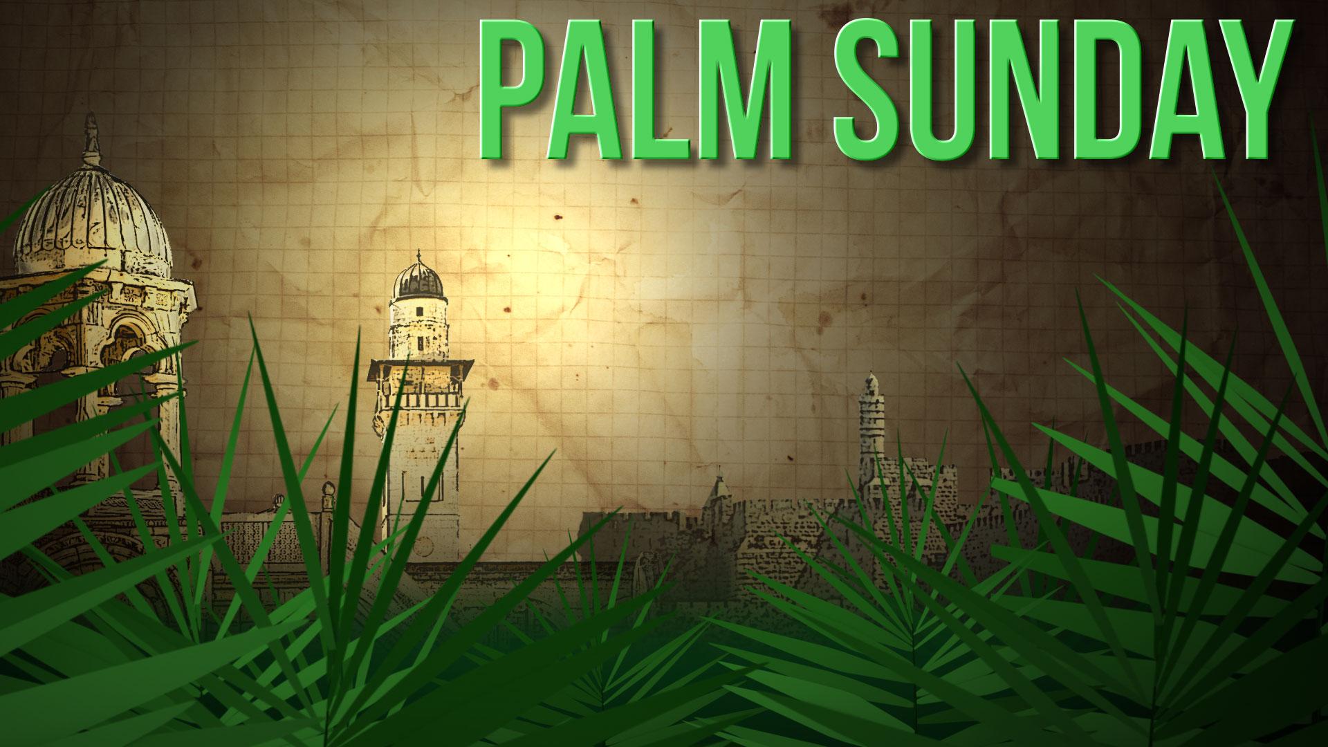 Happy Palm Sunday Greetings Hosanna Mobile Pc Background Hd Wallpaper