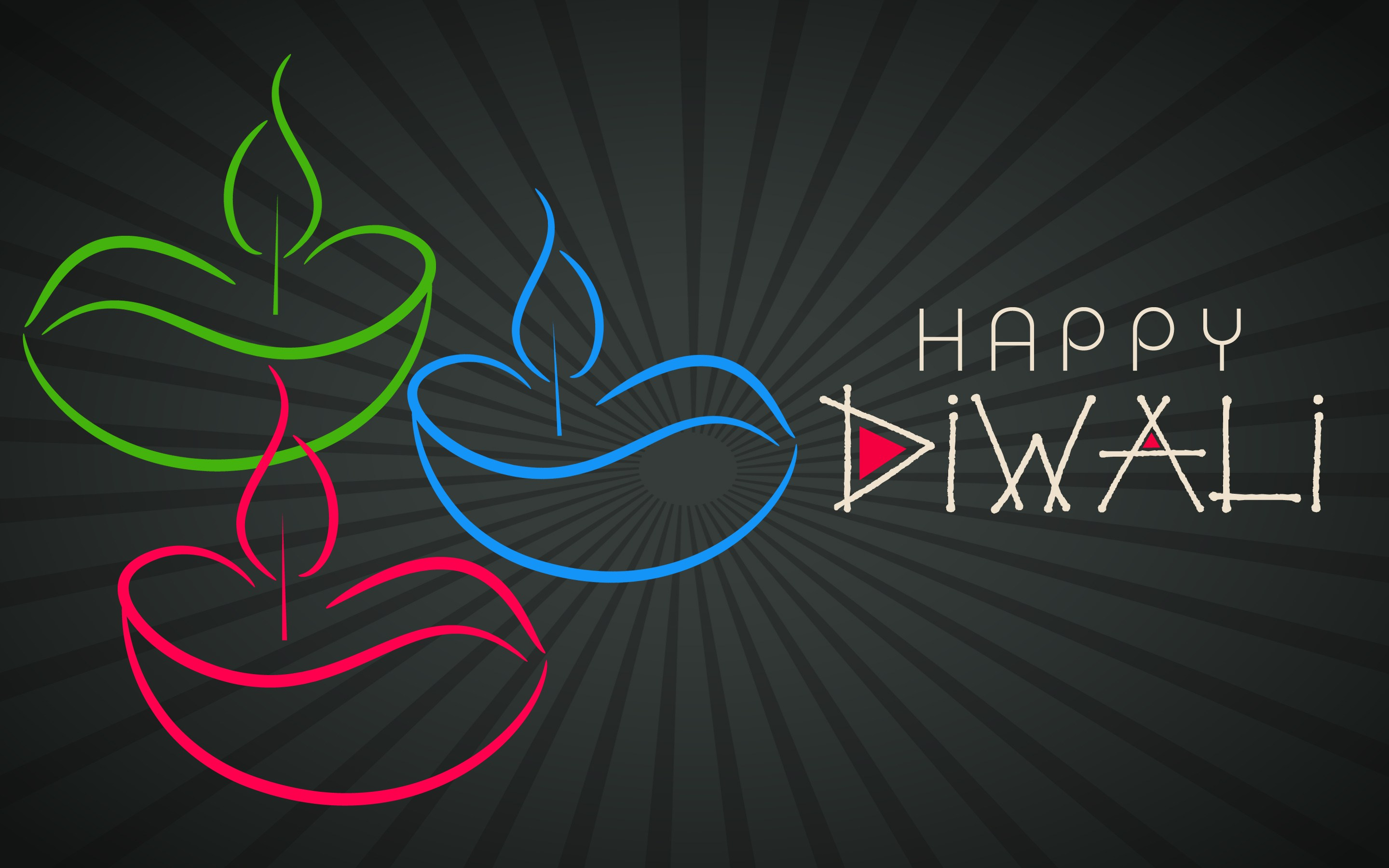 happy shubh diwali deepavali greetings indian festival lights hd wallpaper