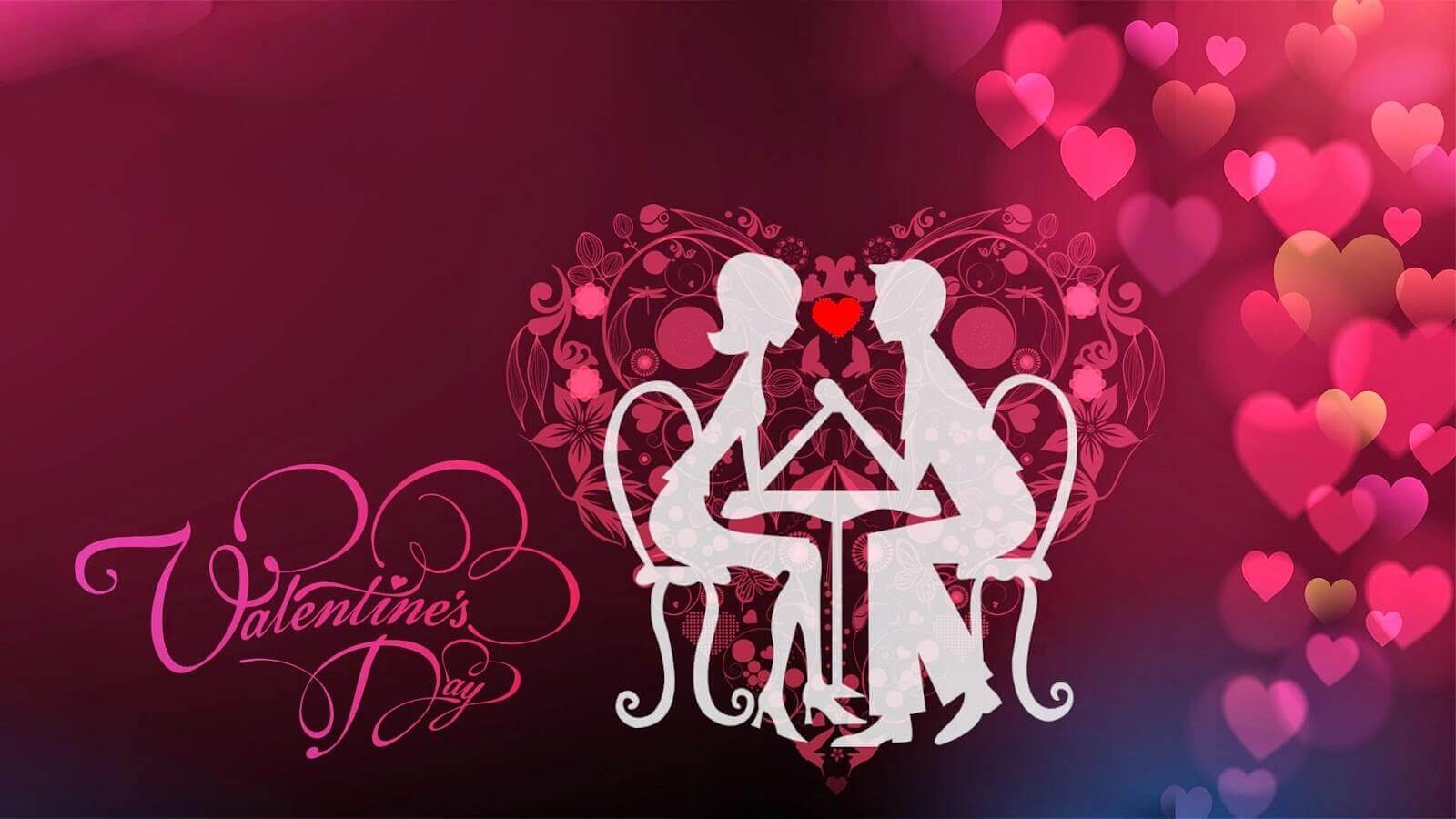 happy valentine day couple sitting romance love image photo hd wallpaper