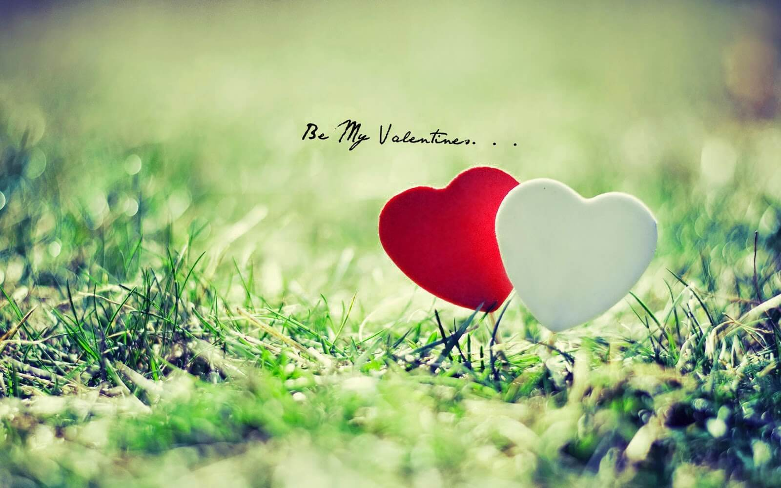 happy valentines day wishes be my valentine hearts hd wallpaper