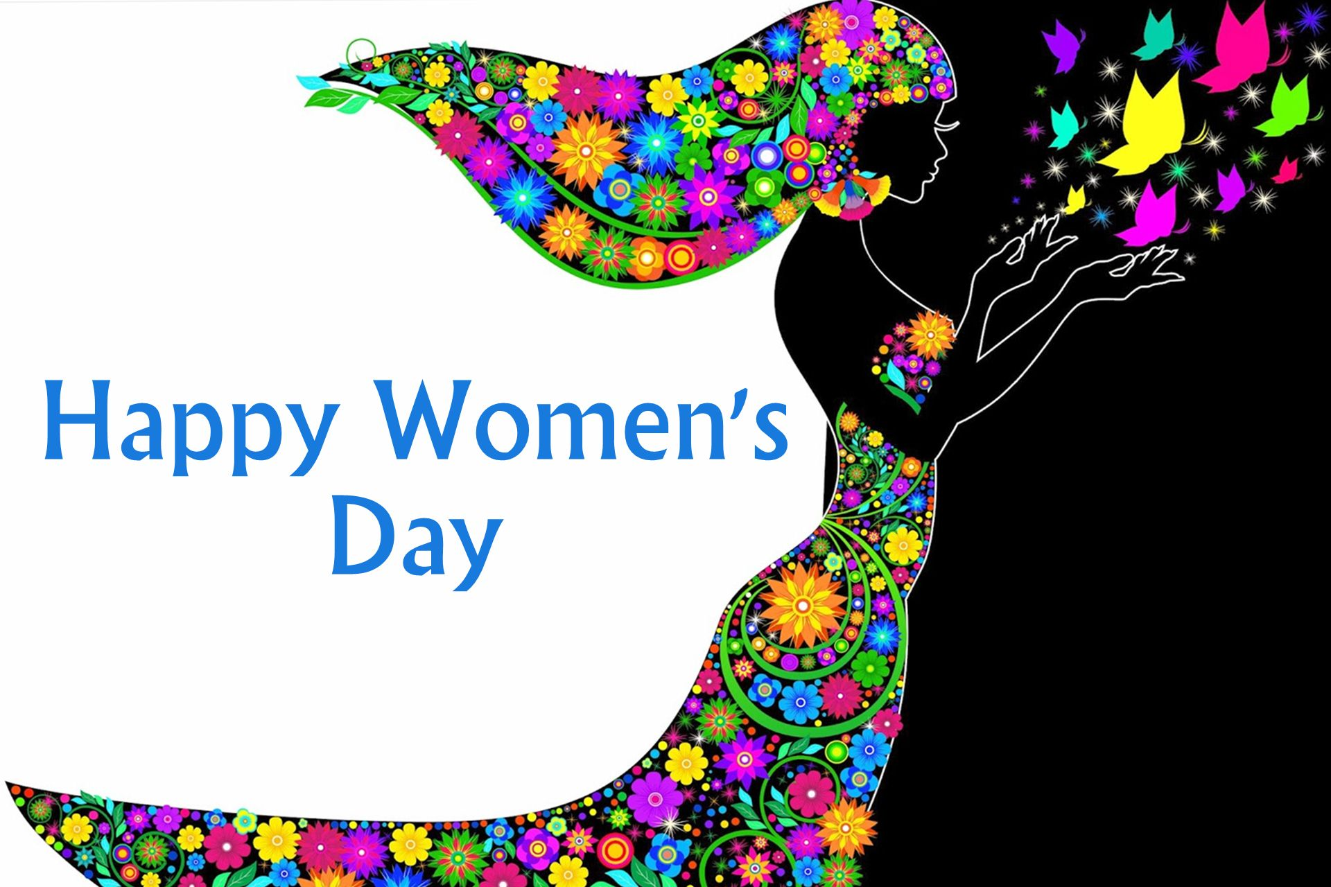 happy womens day greetings wishes latest cute image hd wallpaper