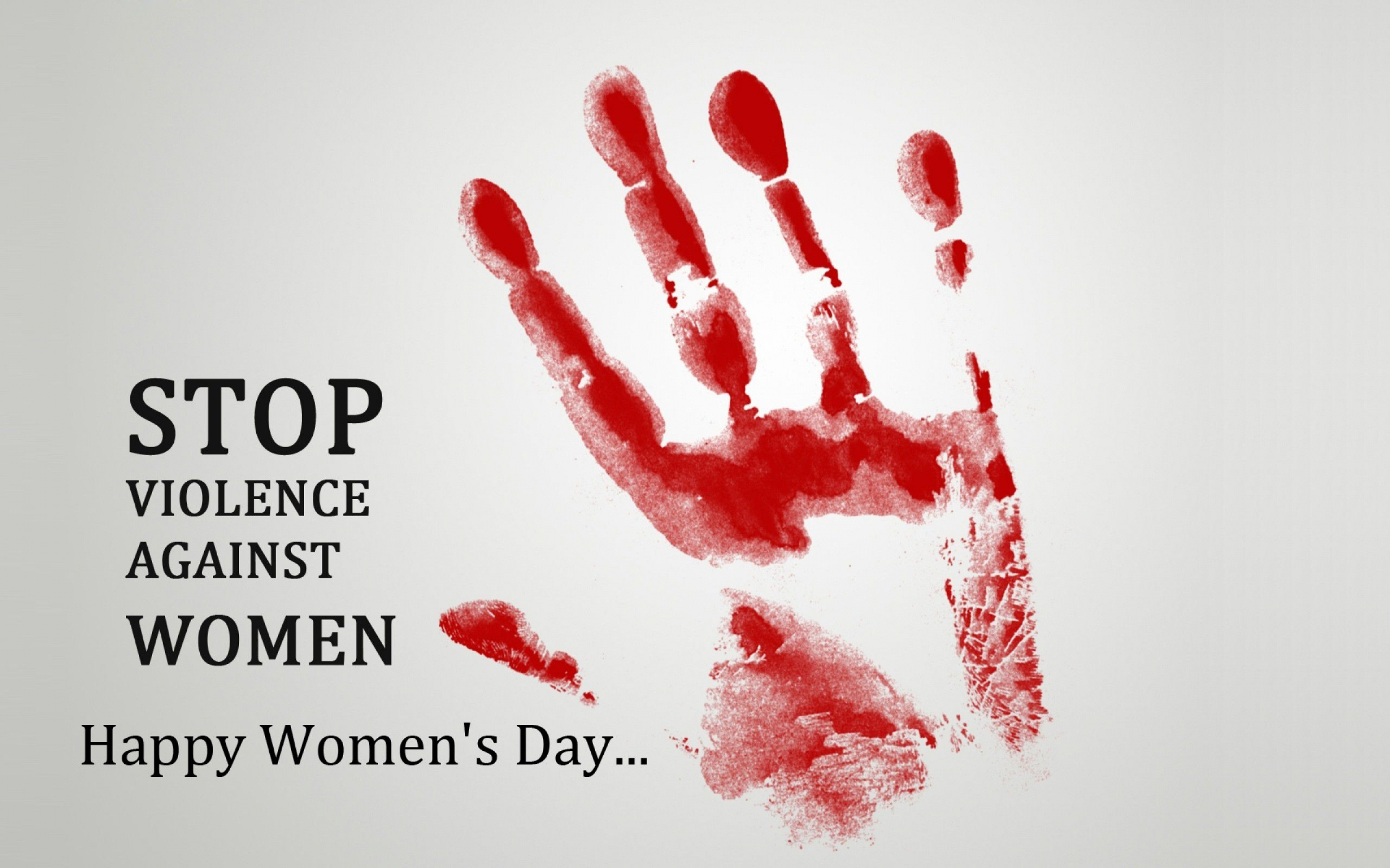 happy womens day stop violence against her quotes hd wallpaper