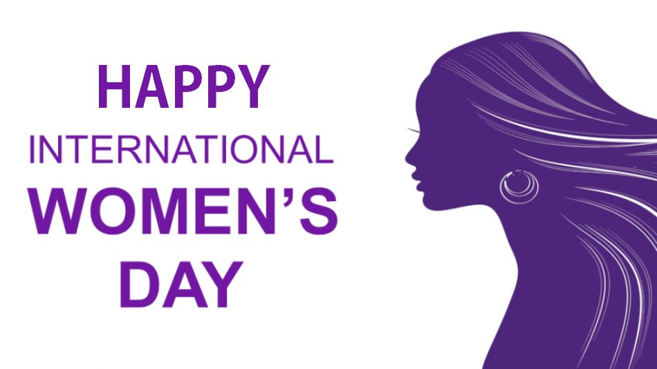 happy womens day wishes purple women image desktop hd wallpaper