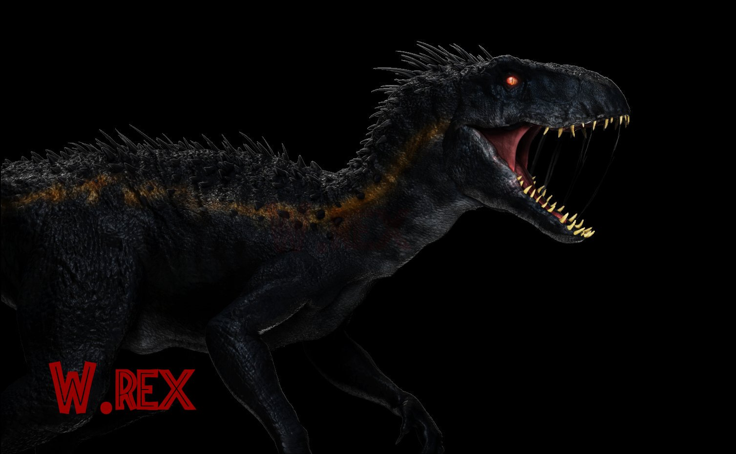 jurassic world fallen kingdom indoraptor w rex hd wallpaper