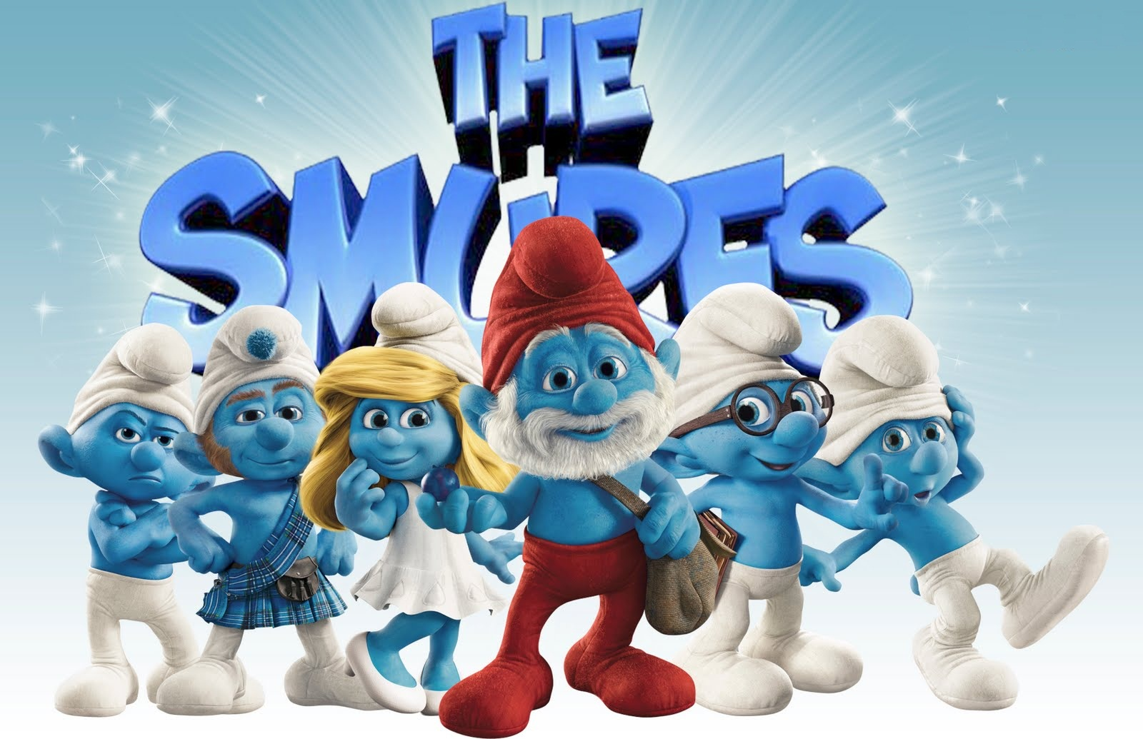 smurfs the lost village animation cartoon hd wallpaper