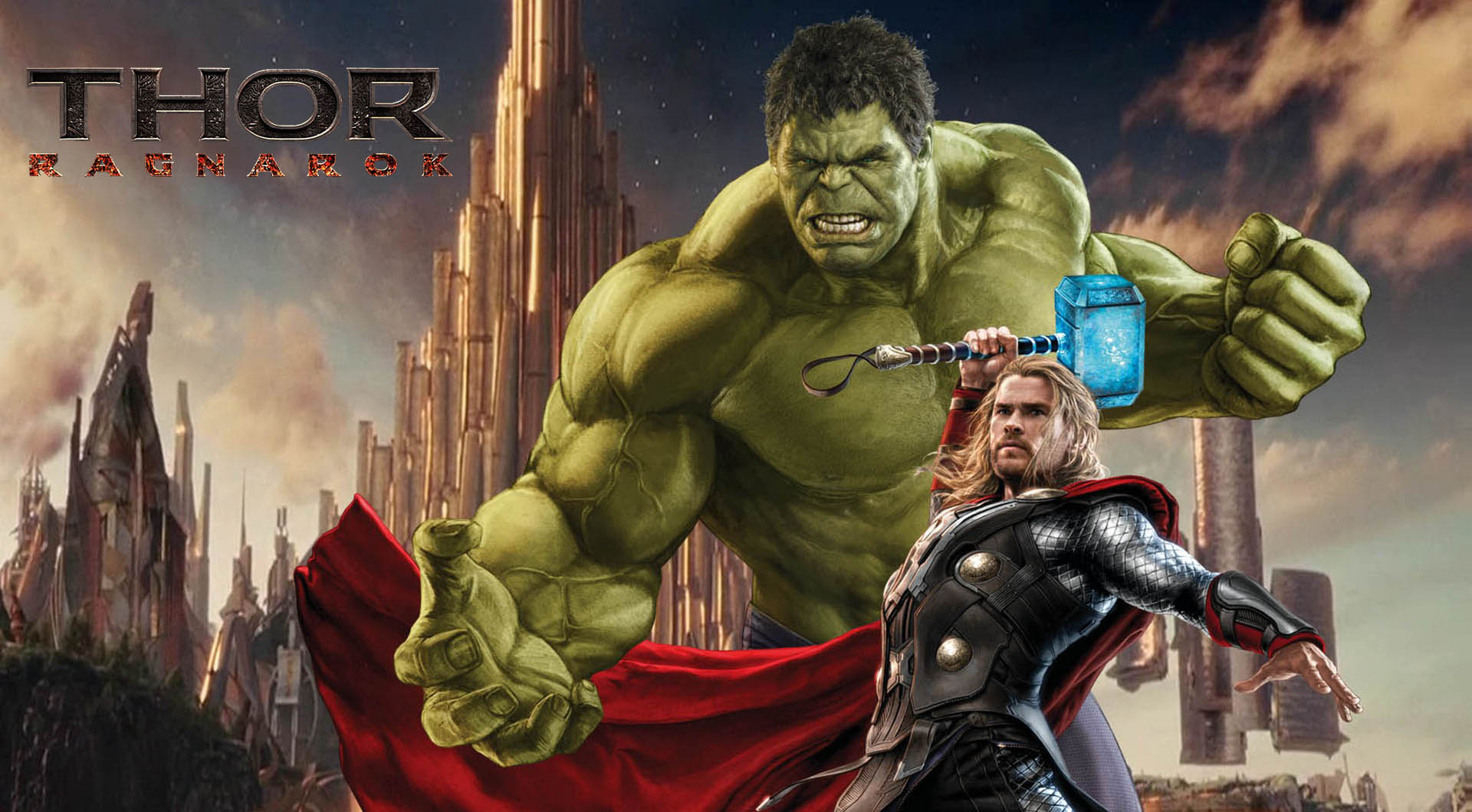 Thor Ragnarok Marvel Avenger Pc Hd Wallpaper