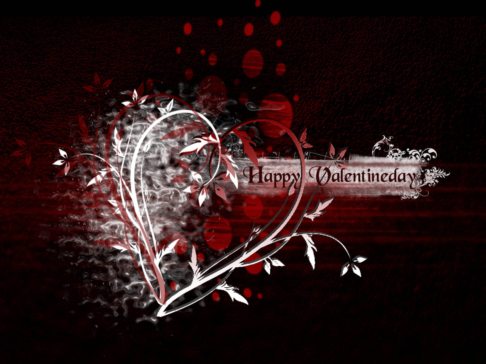 happy valentines day love 3d graphics heart hd wallpaper
