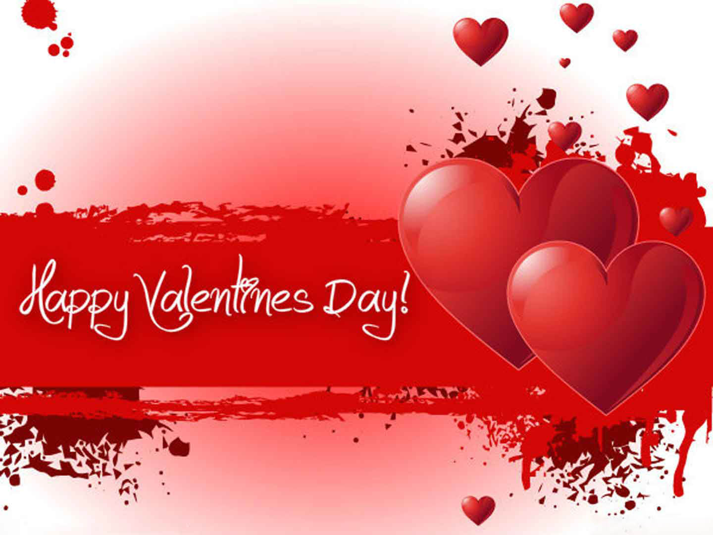 happy valentines day love hearts cute hd wallpaper