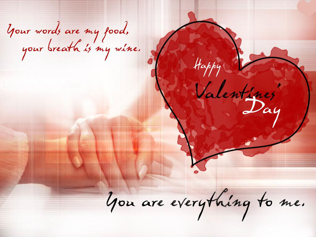 happy valentines day love quotes texts hd wallpaper