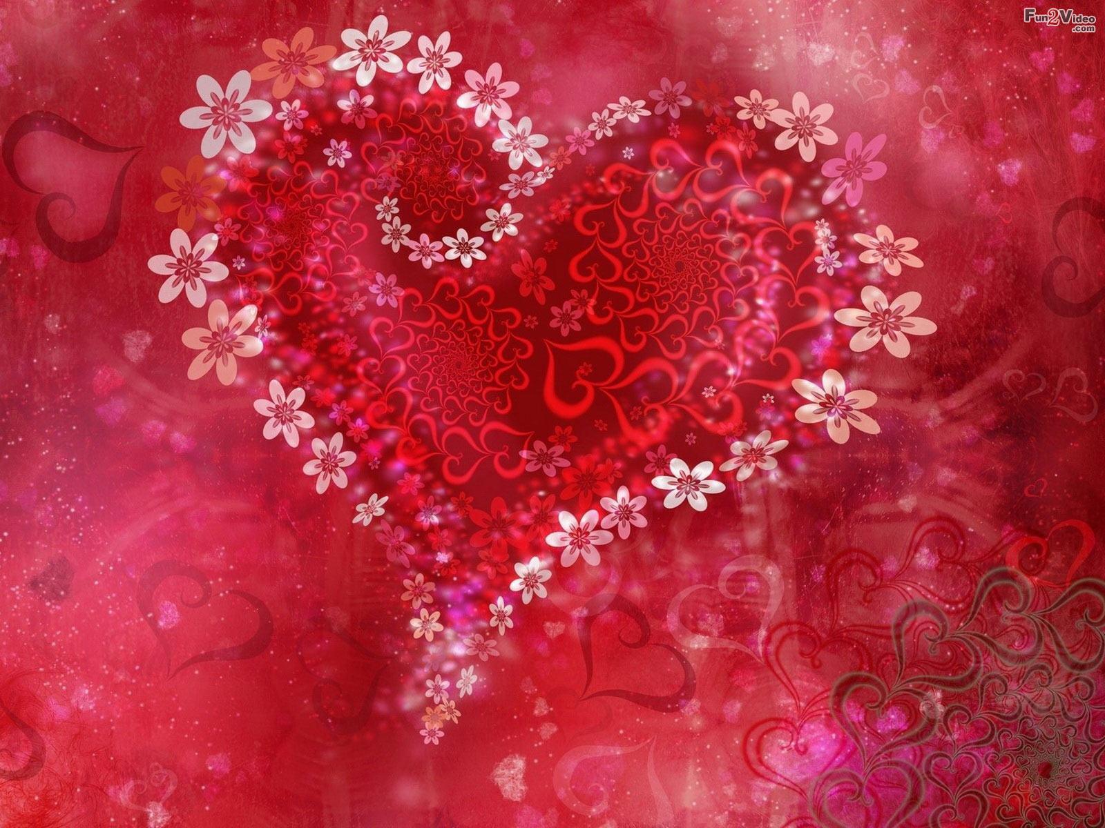 valentine love theme wallpaper background