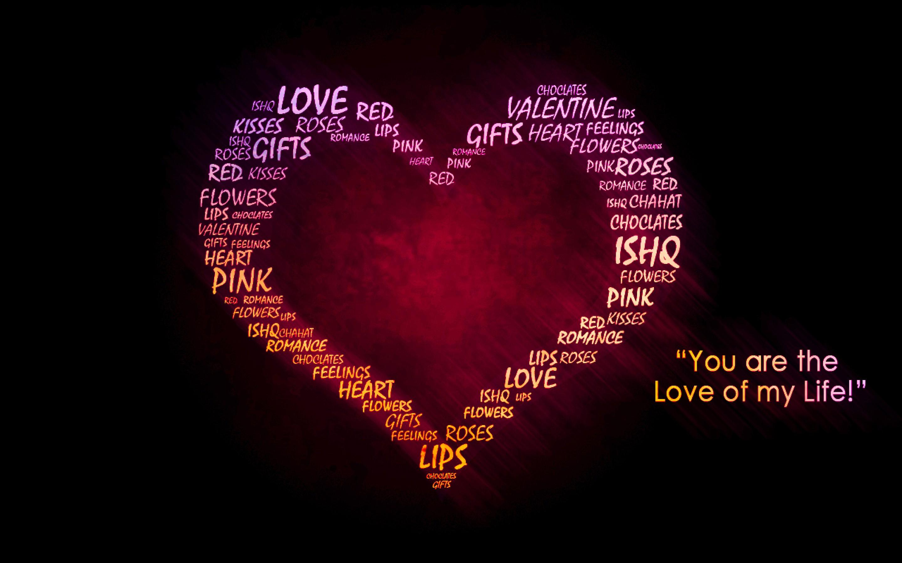 valentines day love quote free hd cool wallpaper
