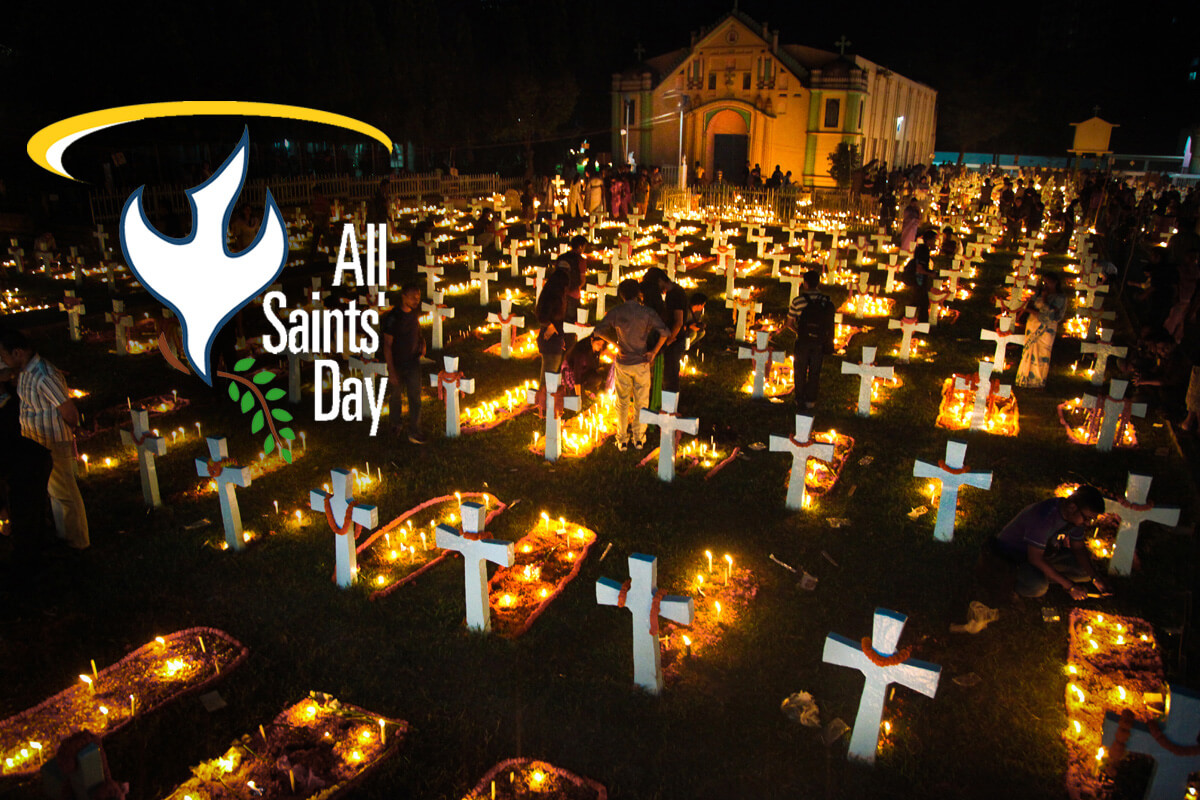 all saints day souls graveyard hd image