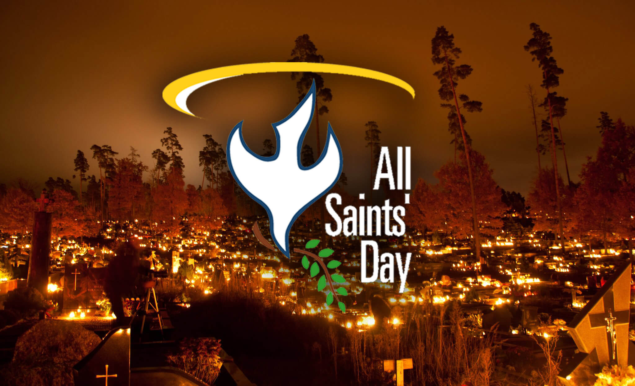 all saints day souls graveyard hd wallpaper