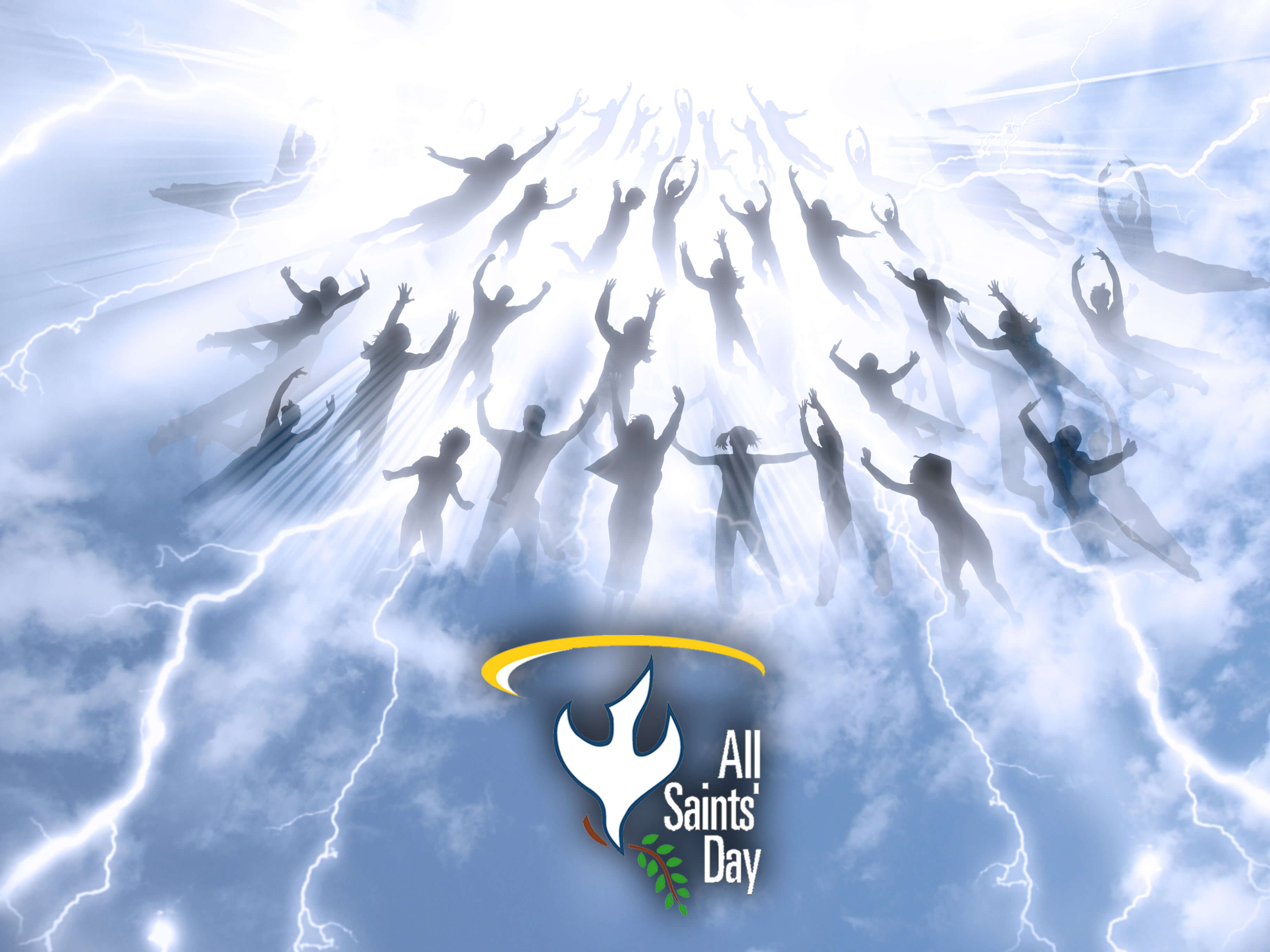 all saints day souls resurrection hd image