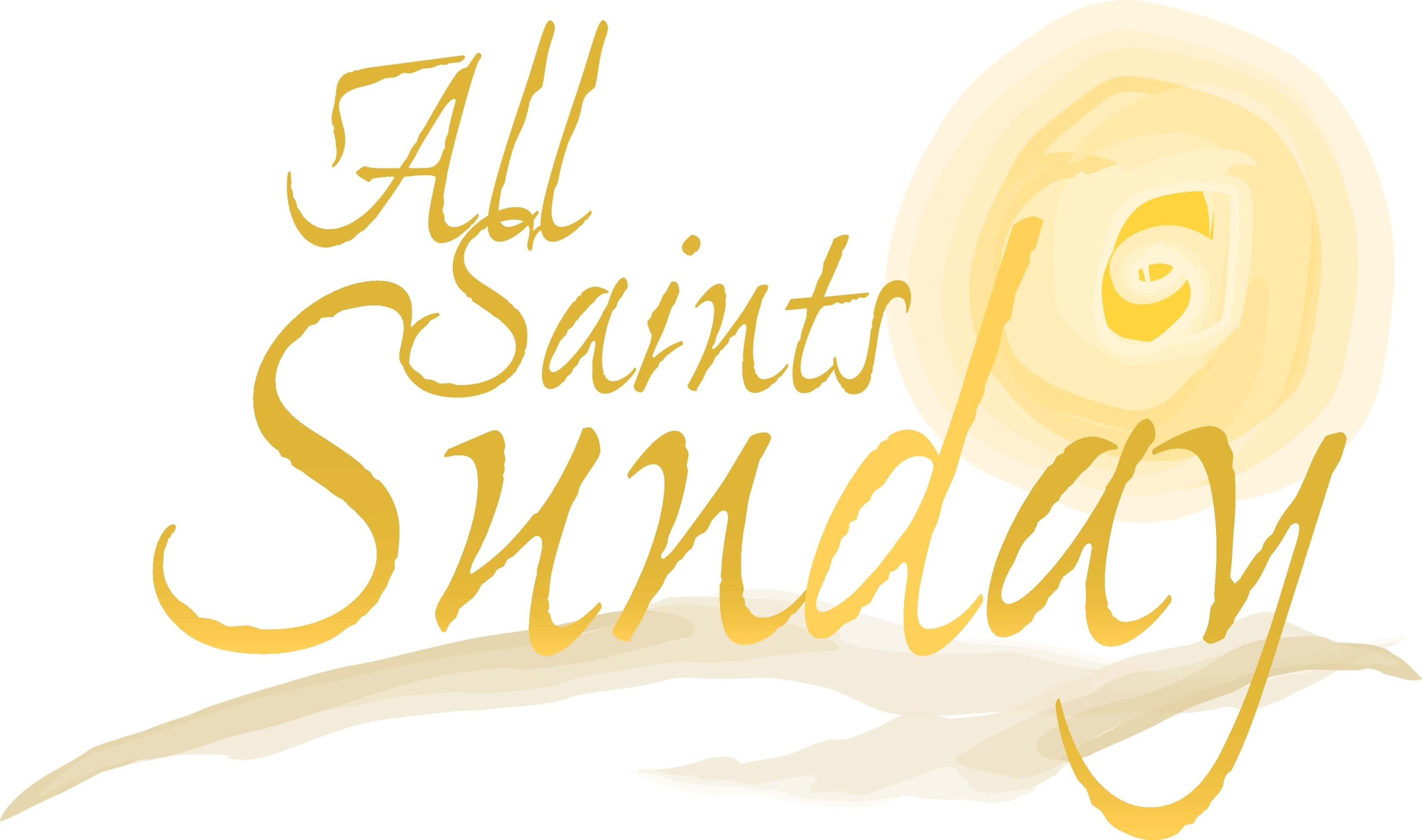 all saints day sunday clip art image