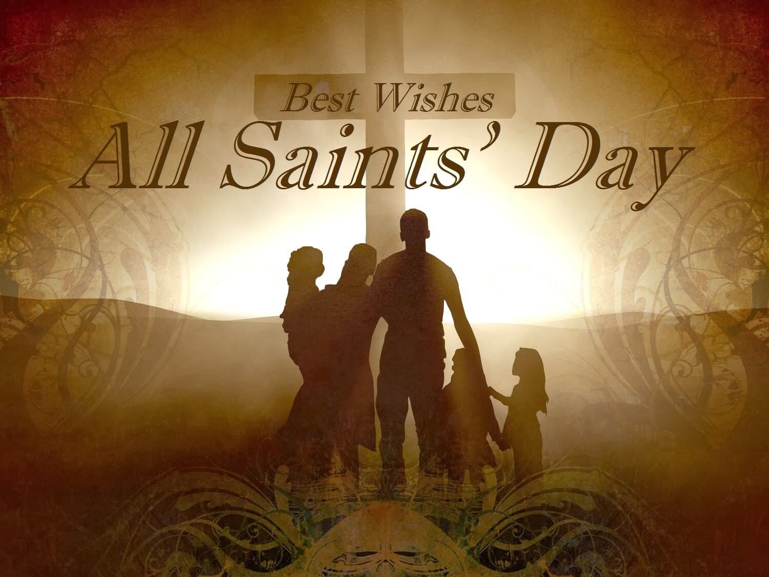 all saints day wishes hd picture image