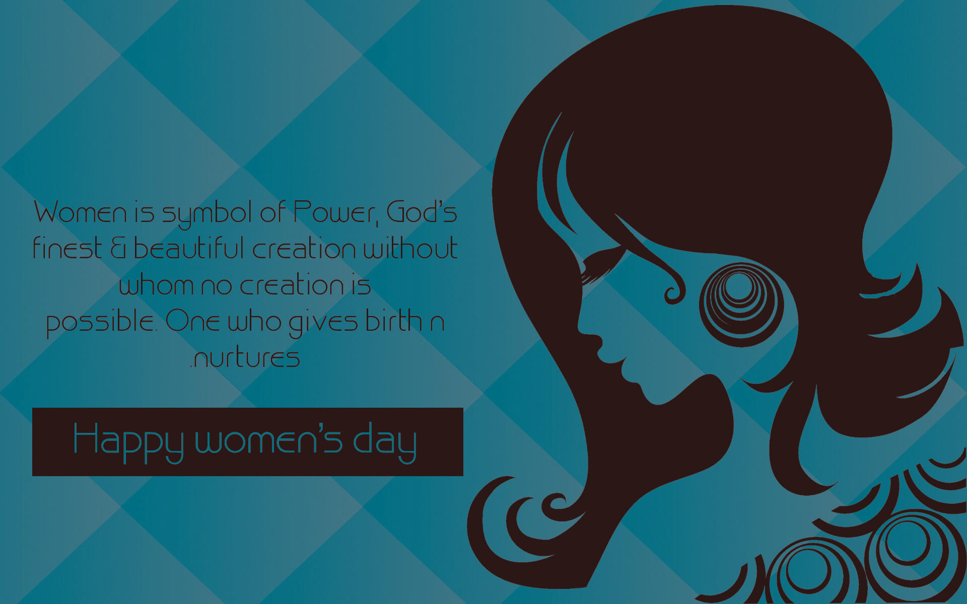 celebrate happy womens day march 8 quotes hd wallpaper