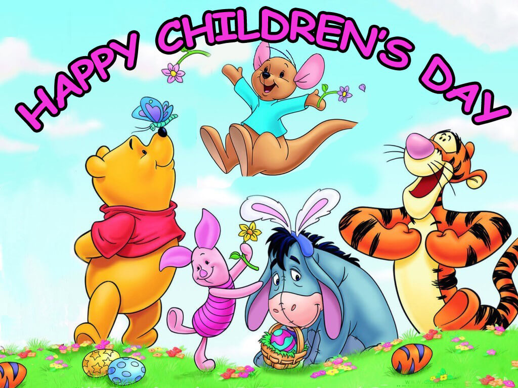 childrens day greetings poo jerry hd wallpaper