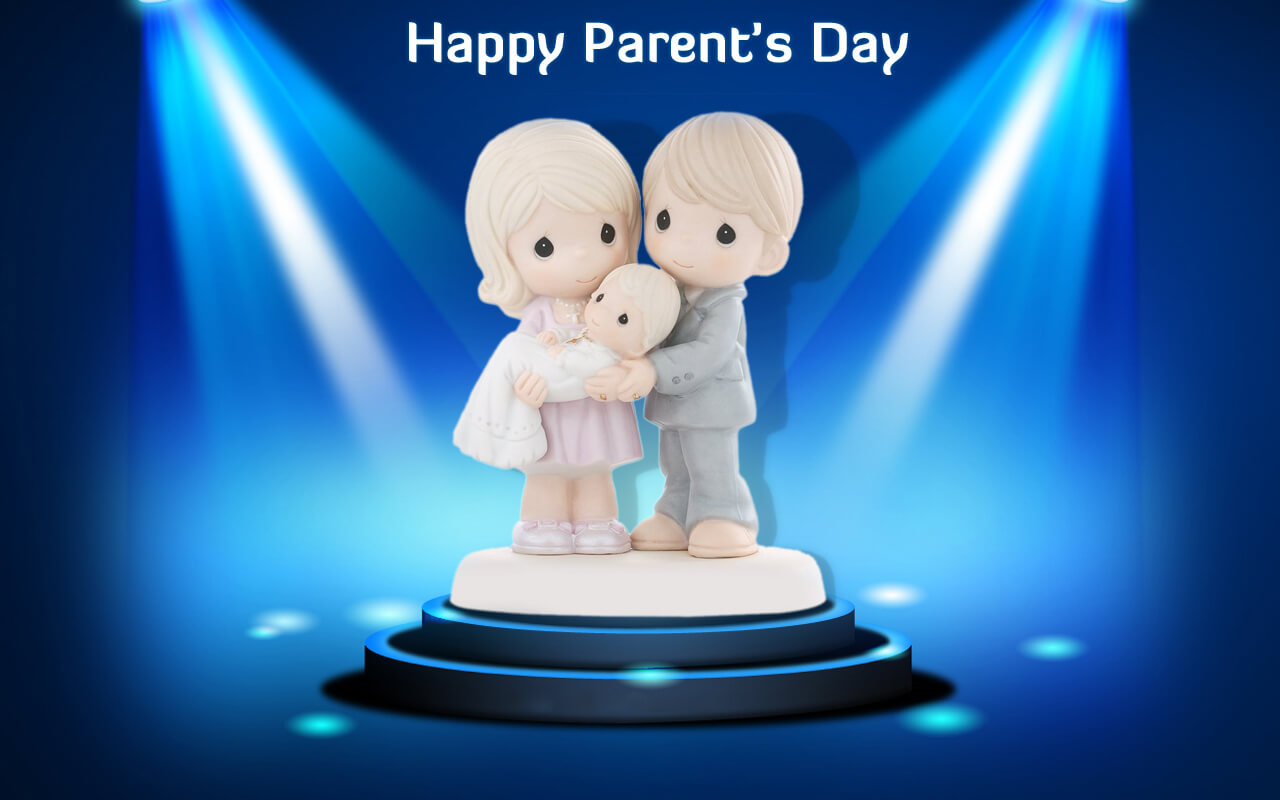 cutest parents day greetings hd wallpaper