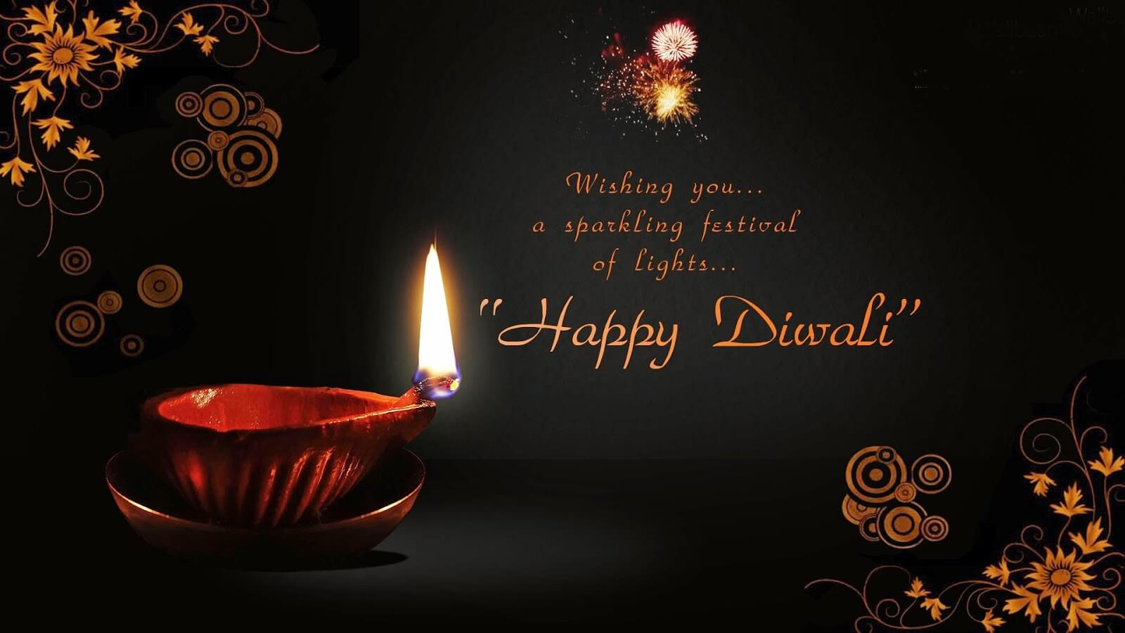 diwali deepavali festival of lights hd wallpaper