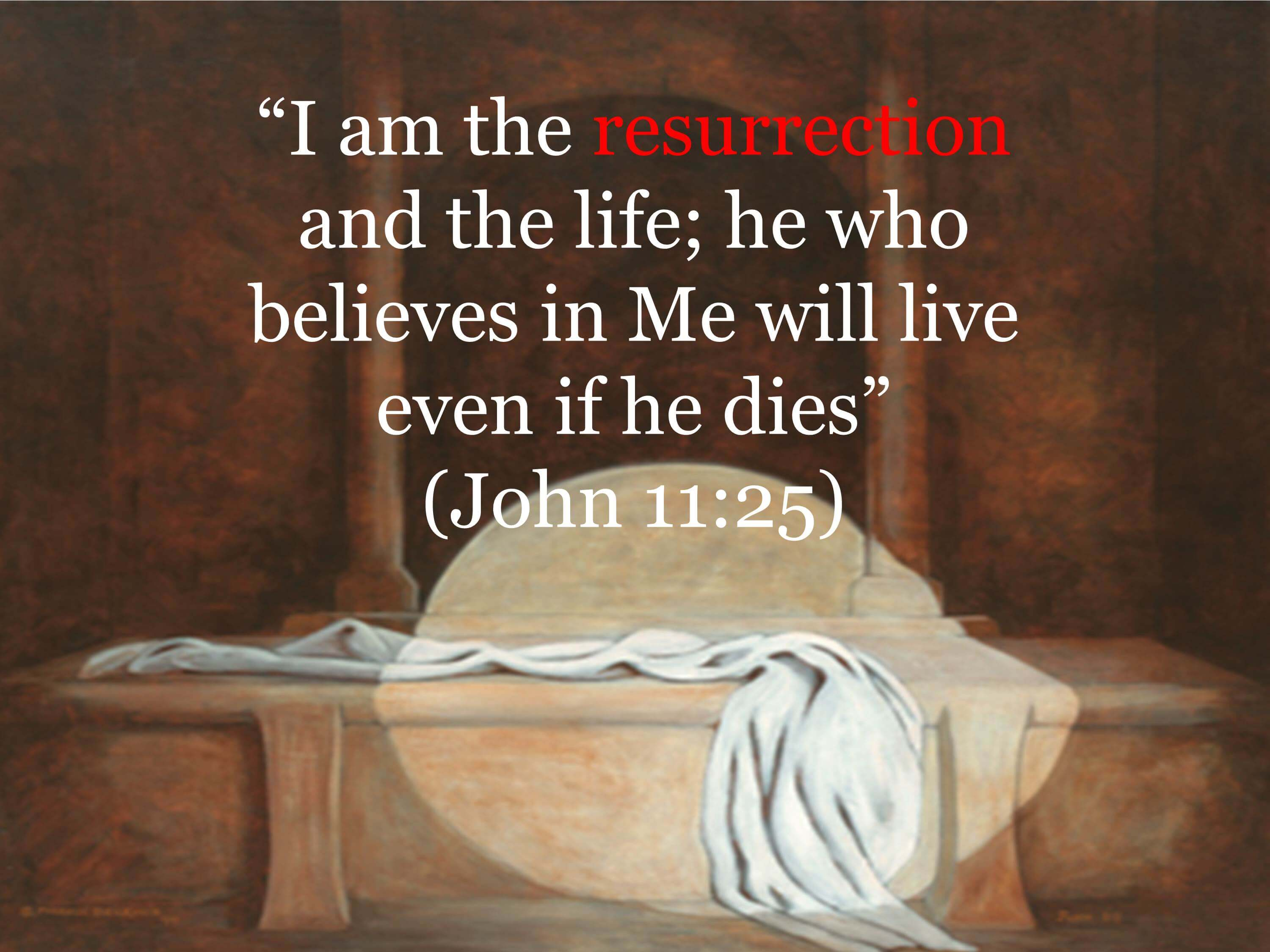 easter iam the resurrection and the life jesus wallpaper