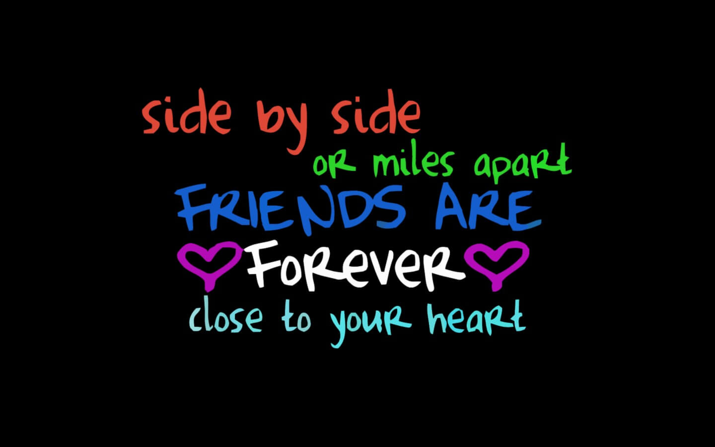 friendship day quotes thoughts hd wallpaper