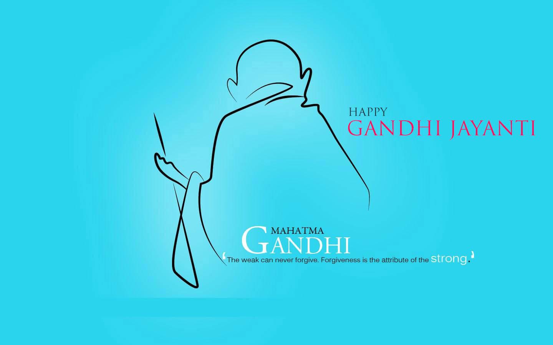 gandhi jayanti modern desktop wallpaper