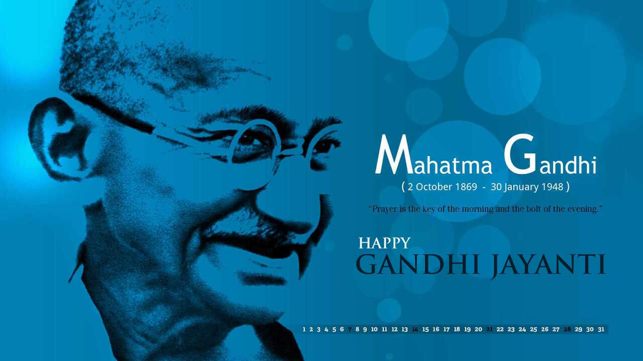 gandhi jayanti october 2 hd desktop wallpaper