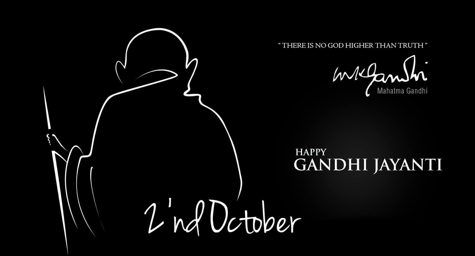 gandhi jayanti quotes october 2 hd image wallpaper