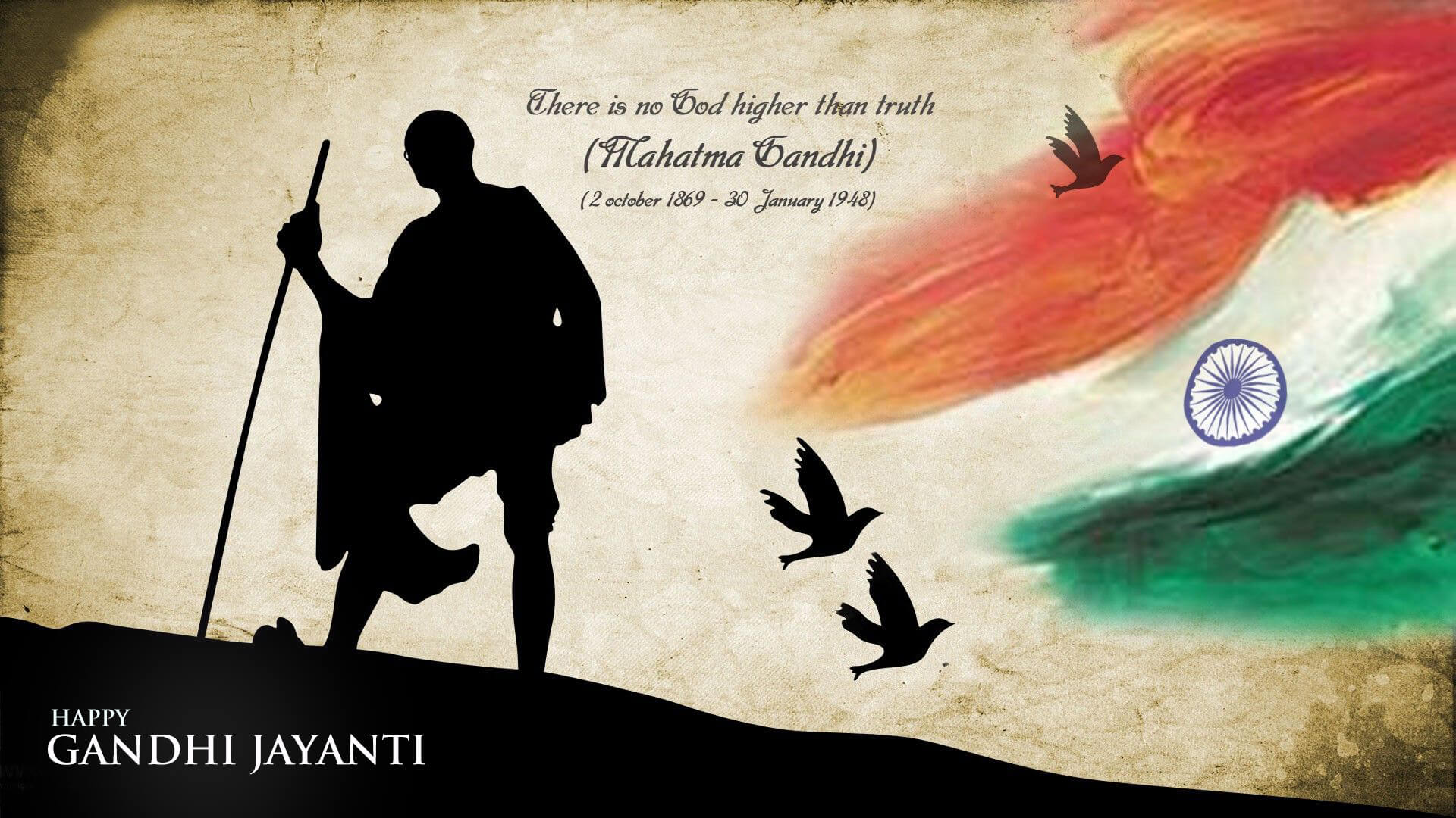 gandhi jayanti wishes october 2nd new hd wallpaper