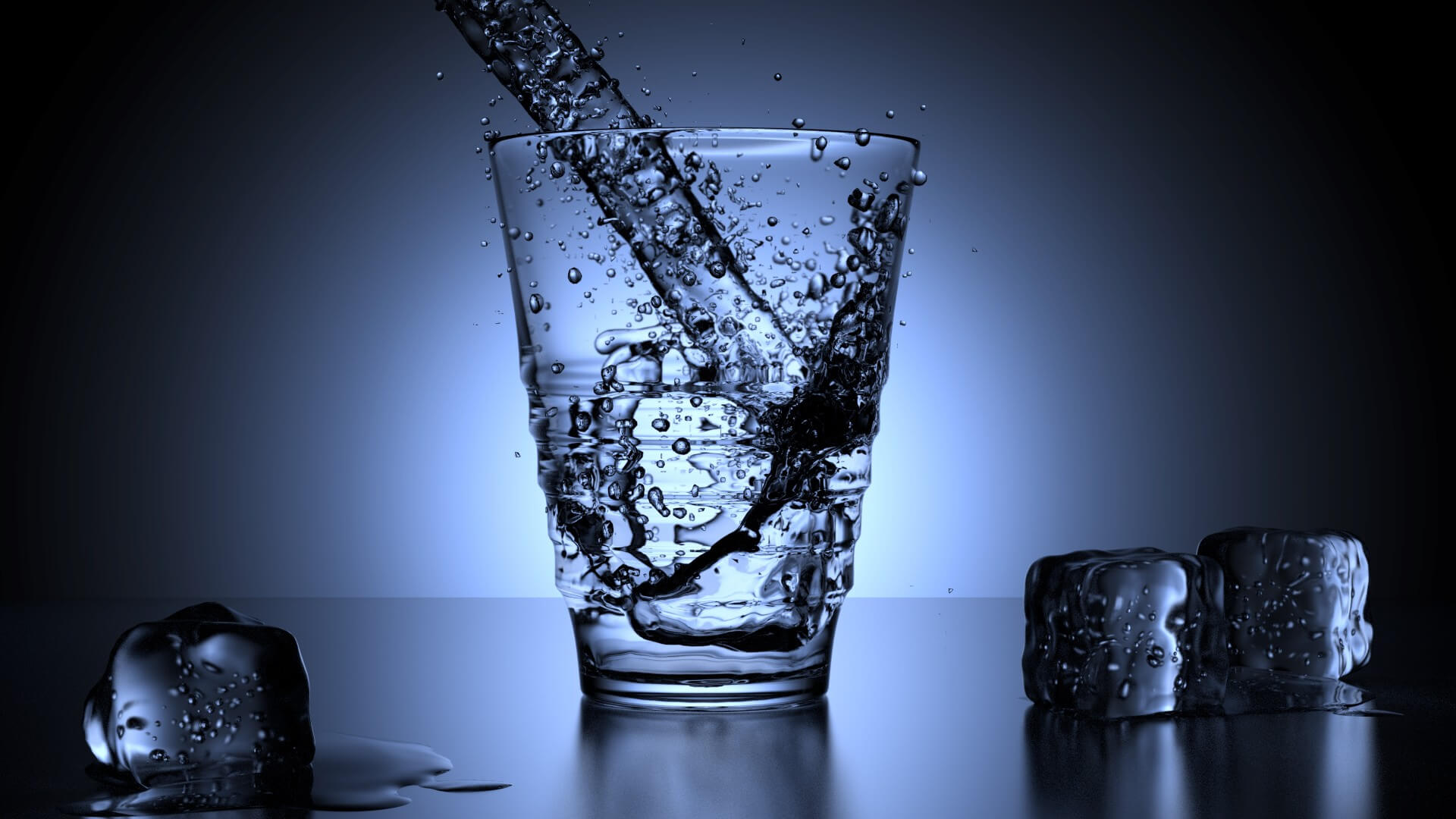 glass world water day desktop hd