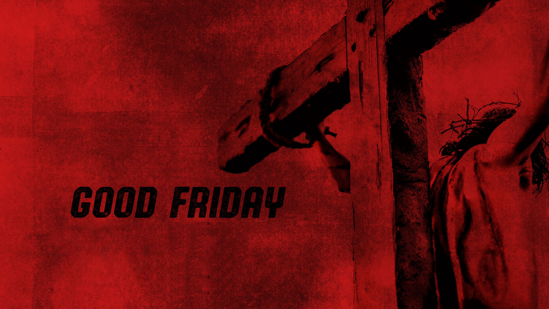 good friday jesus died crucifixion thorns hd wallpaper