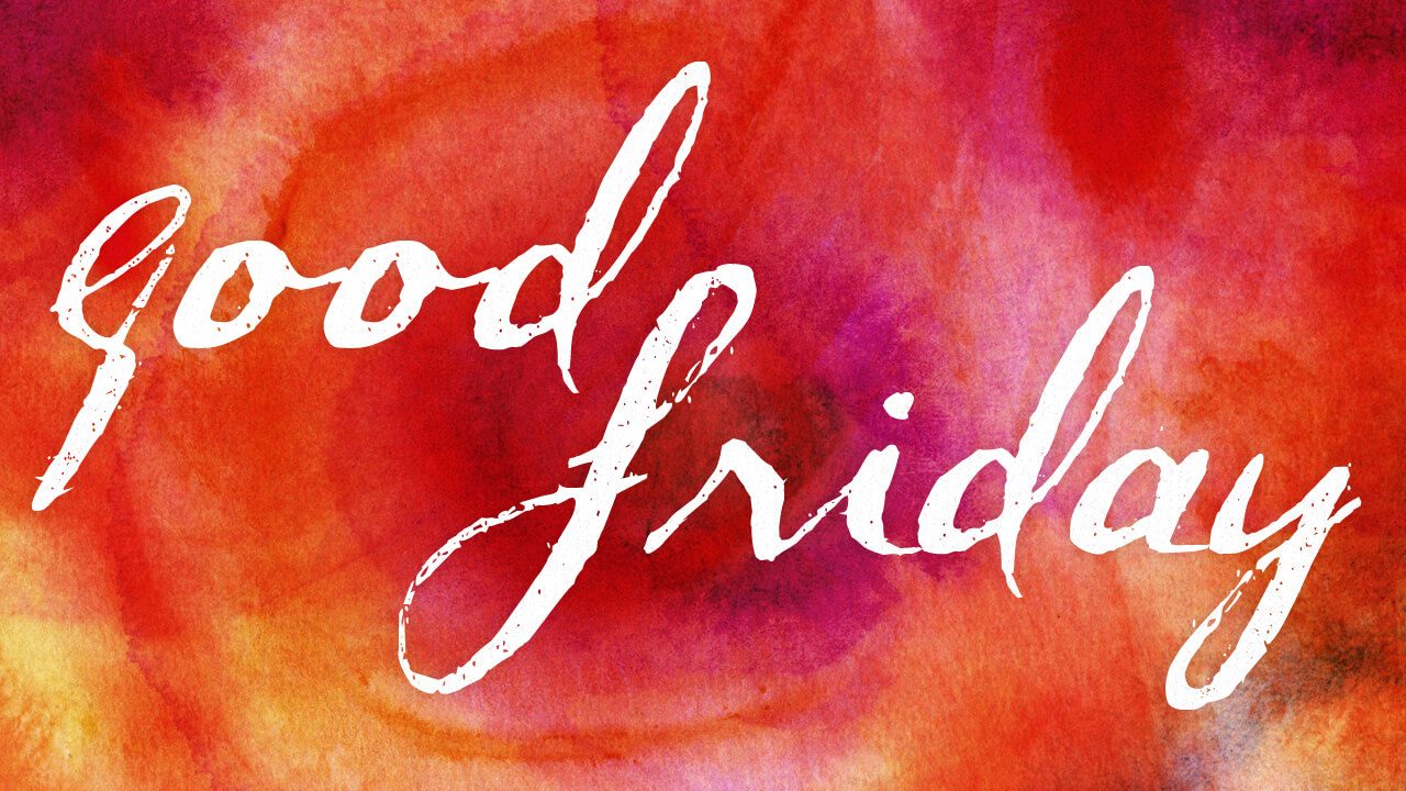 good friday text style modern hd wallpaper