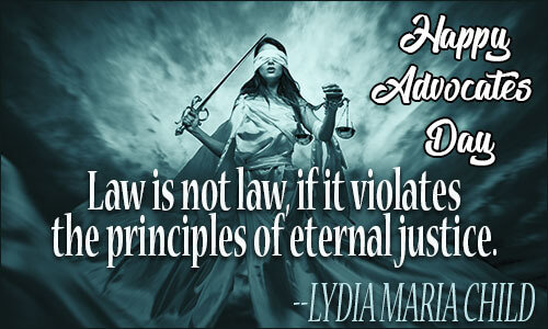 happy advocates day wishes greetings law quotes texts wallpaper