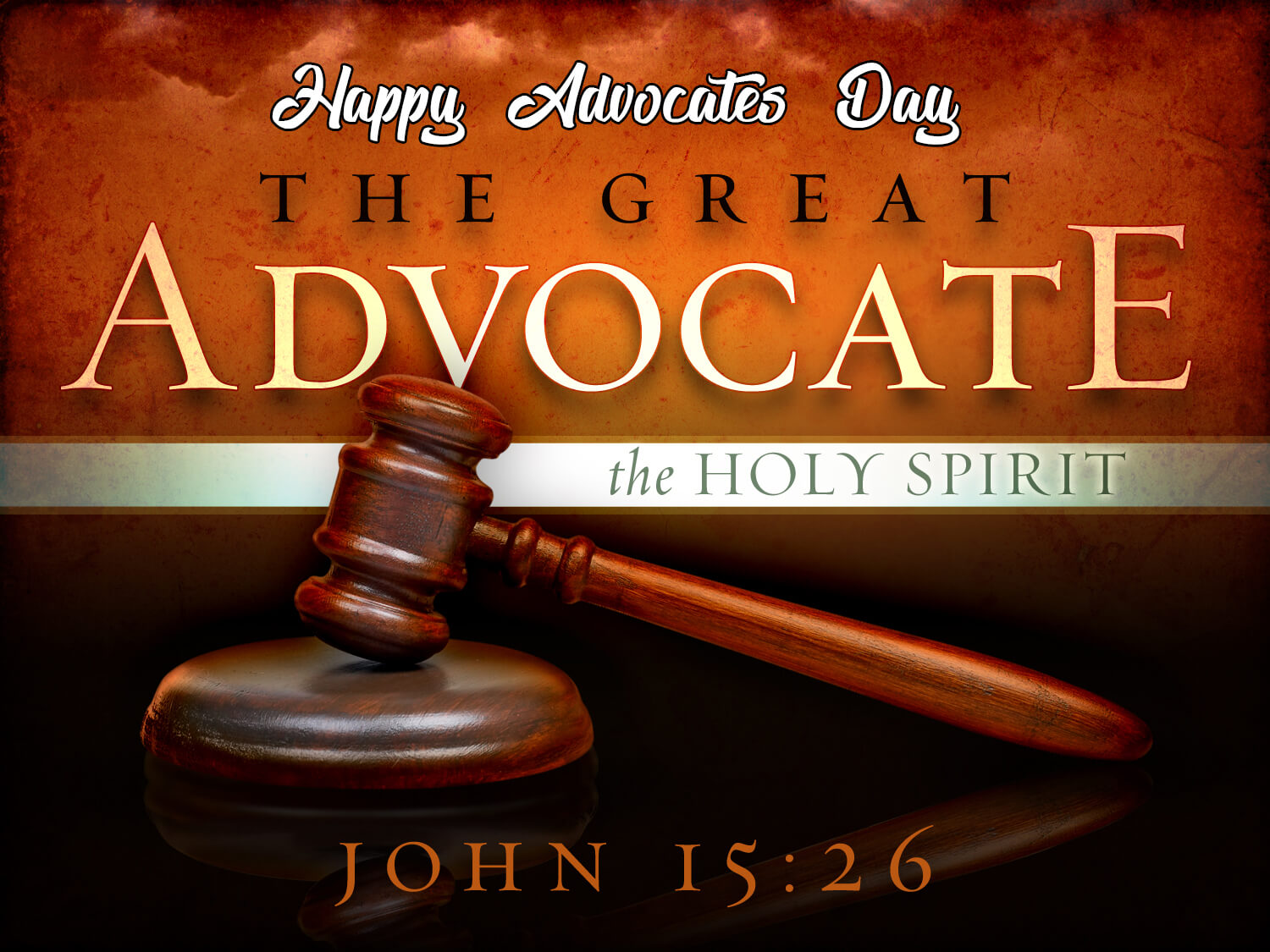 happy advocates day wishes holyspirit christian hd wallpaper