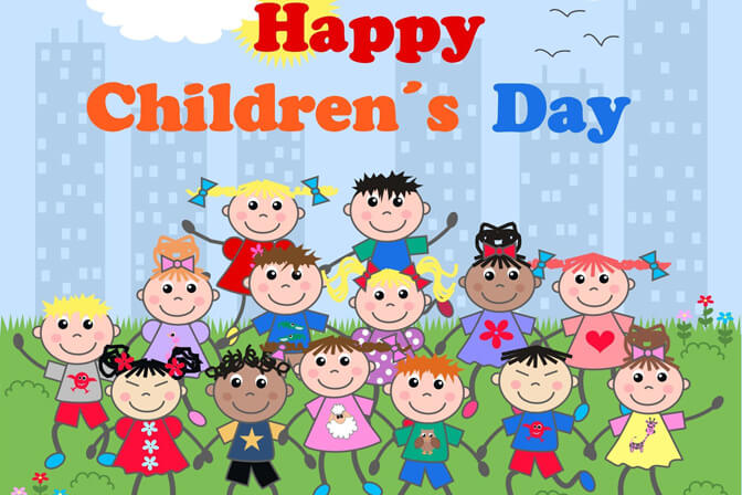 happy childrens day animated kids wallpaper