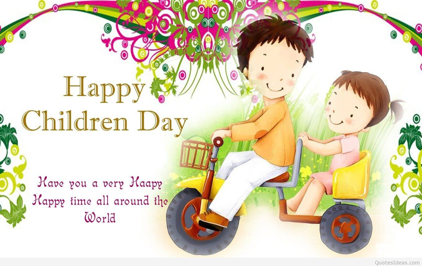 happy childrens day cartoon desktop wallpaper