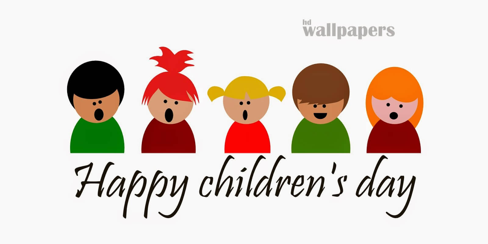 happy childrens day hd art kids wallpaper